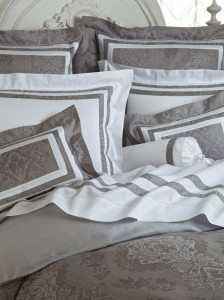 Leopardi -  500 thread count damask, made in Italy.