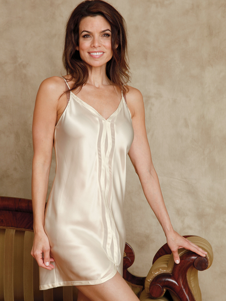 New chemise made of 100% Silk Charmeuse