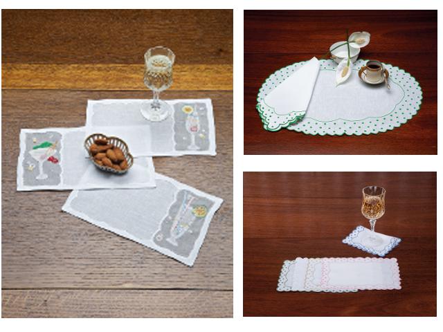 Casandra and Manhattan napkins