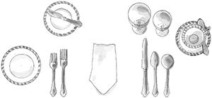 tips for a proper table setting - schweitzerlinen