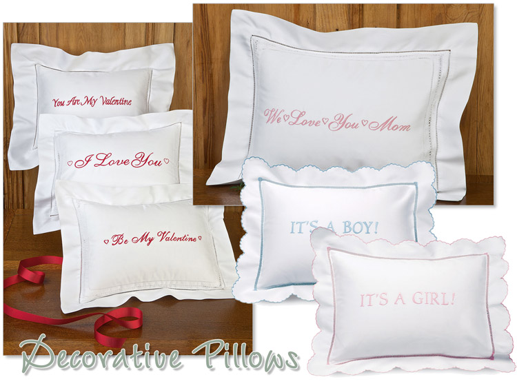 Message Pillows