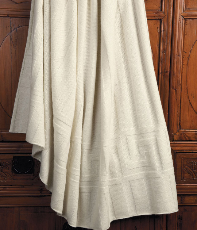 Metropolis Key Cashmere Throw