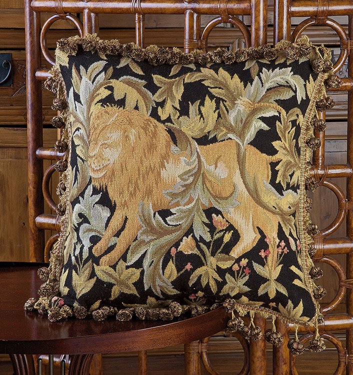 "Kings Lions 18"" Square"