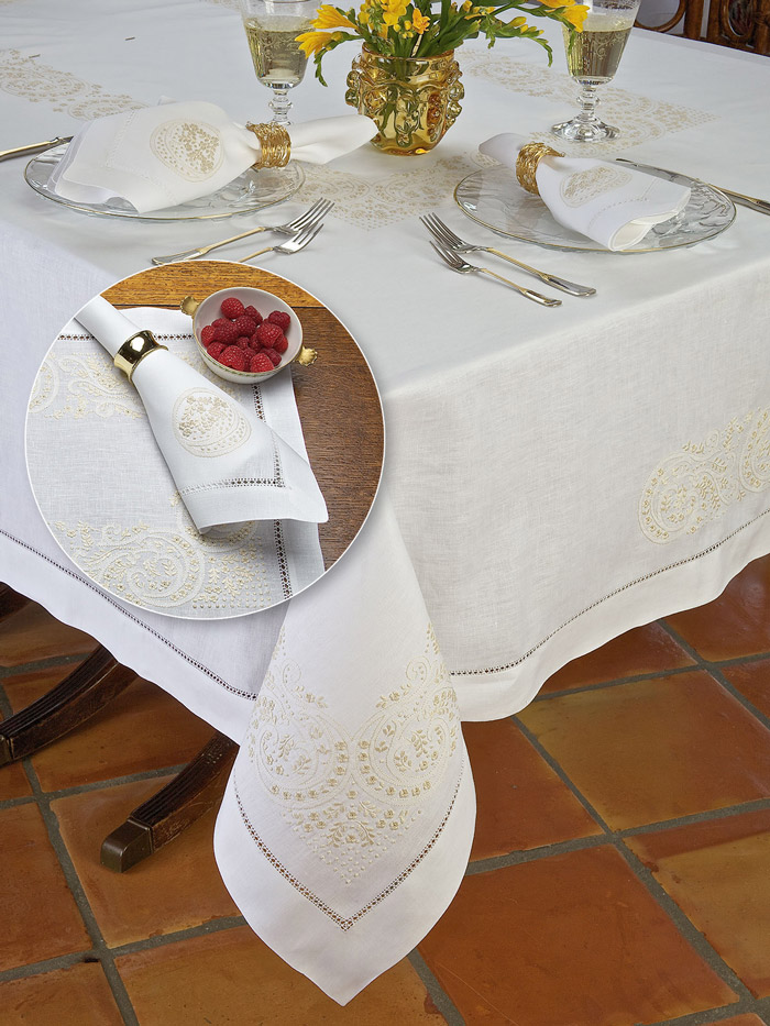 Turkey Time Thanksgiving Table Linens Schweitzerlinen - Thanksgiving-table-cloth