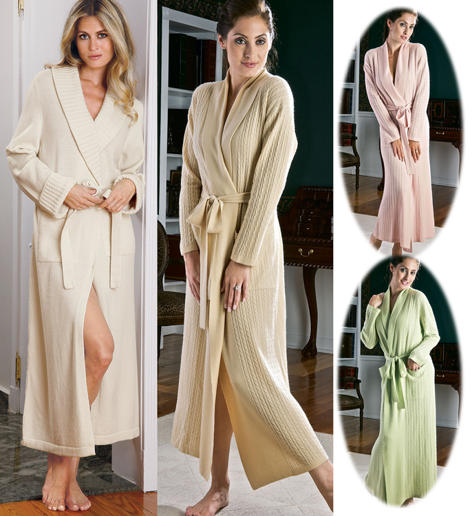 Baronesse & Angie Cashmere Robes