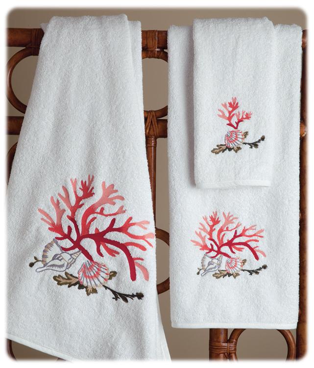Seascape Towels