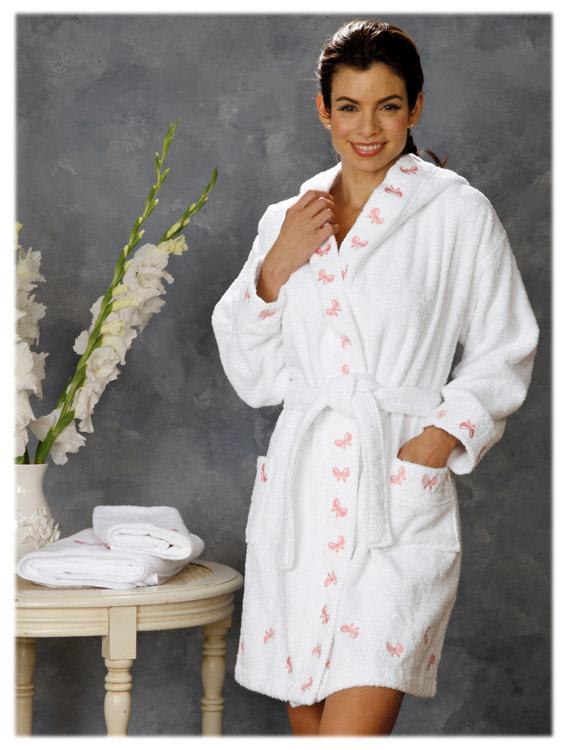Tiffany Bath Robe Pink