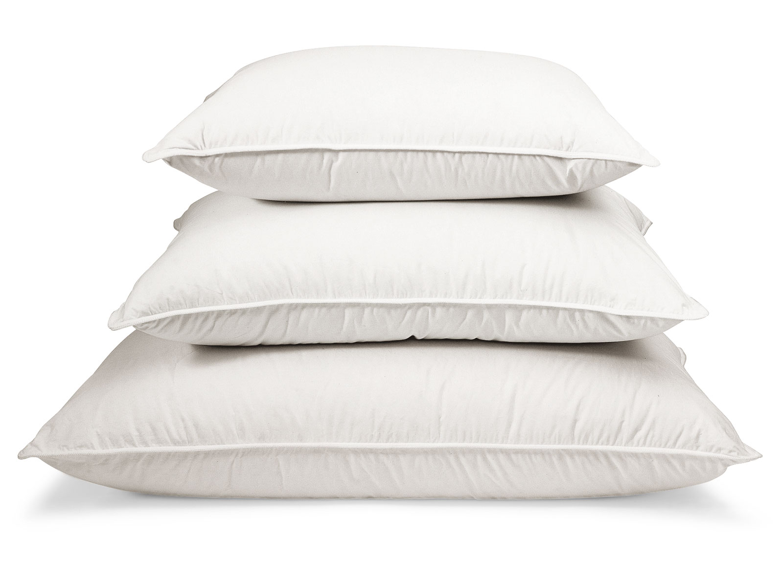 Two In One Pillow: Down & Feather