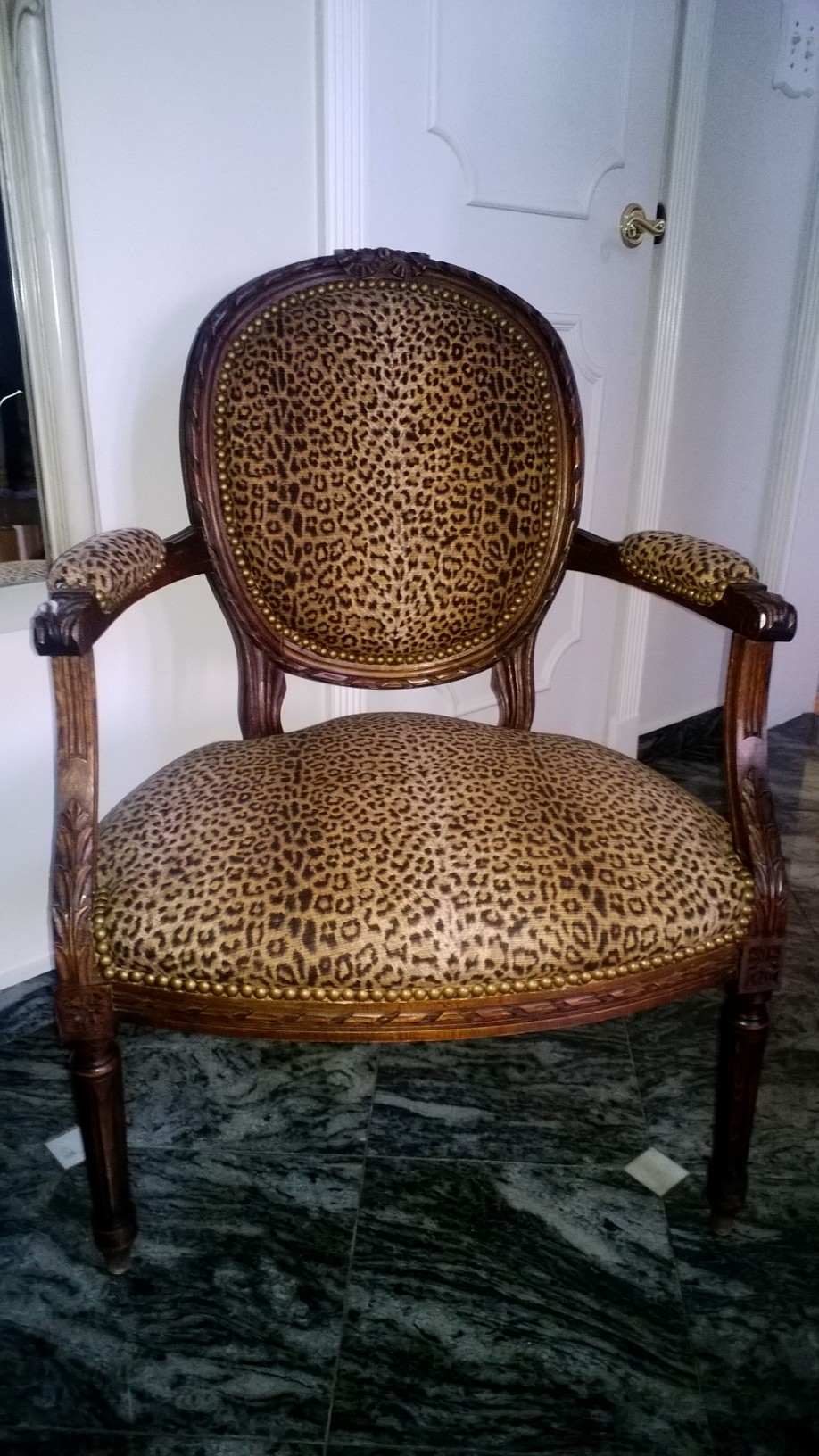 Reupholstered chair 2