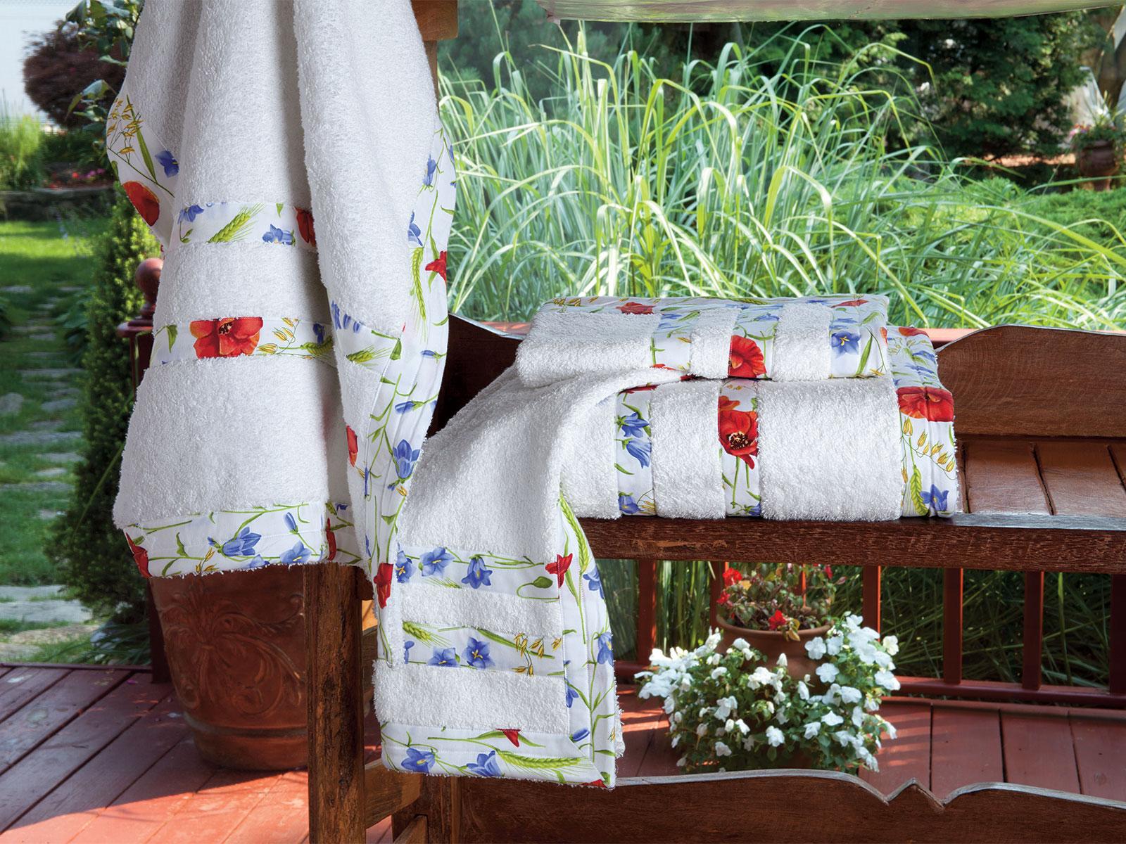 Fontaine Fleur Towels