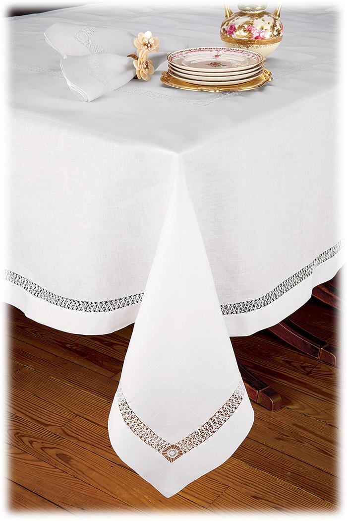 Chateau Blanc Tablecloth