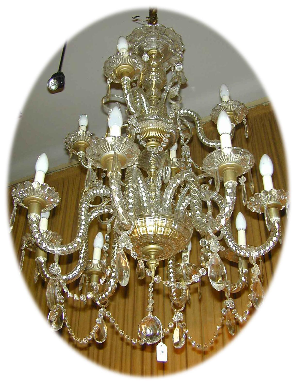 Chandelier english crystal schweitzerlinen chandelier english crystal published december 11 2014 at 1224 1595 arubaitofo Image collections