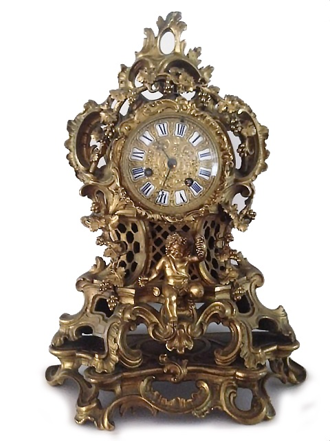 Mantle Clock_Gold