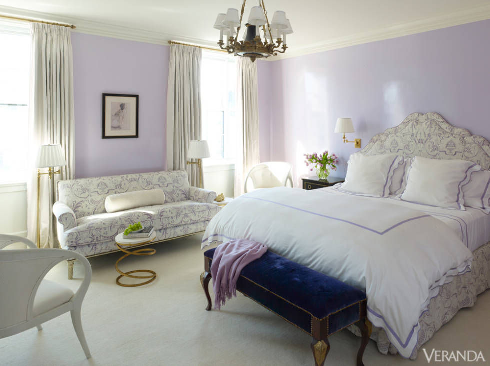 """Schweitzer's """"Prato"""" bedding as featured in Veranda Magazine 2014"""