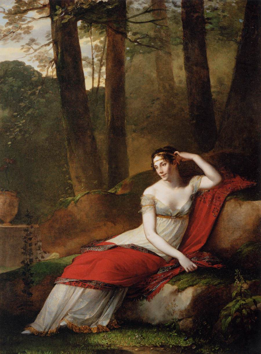 Empress Josephine (Pierre-Paul Prud'hon, via Wikimedia Commons)
