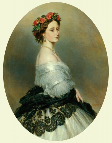 Princess Alice (1843–78) 1861   Painted by Franz Xaver Winterhalter (1805–73)   England   Royal Collection © Her Majesty Queen Elizabeth II