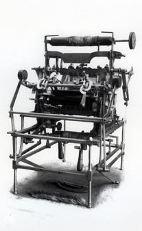 Heathcoat's Bobbin-net lace making machine. Retrieved from janeausten.co.uk