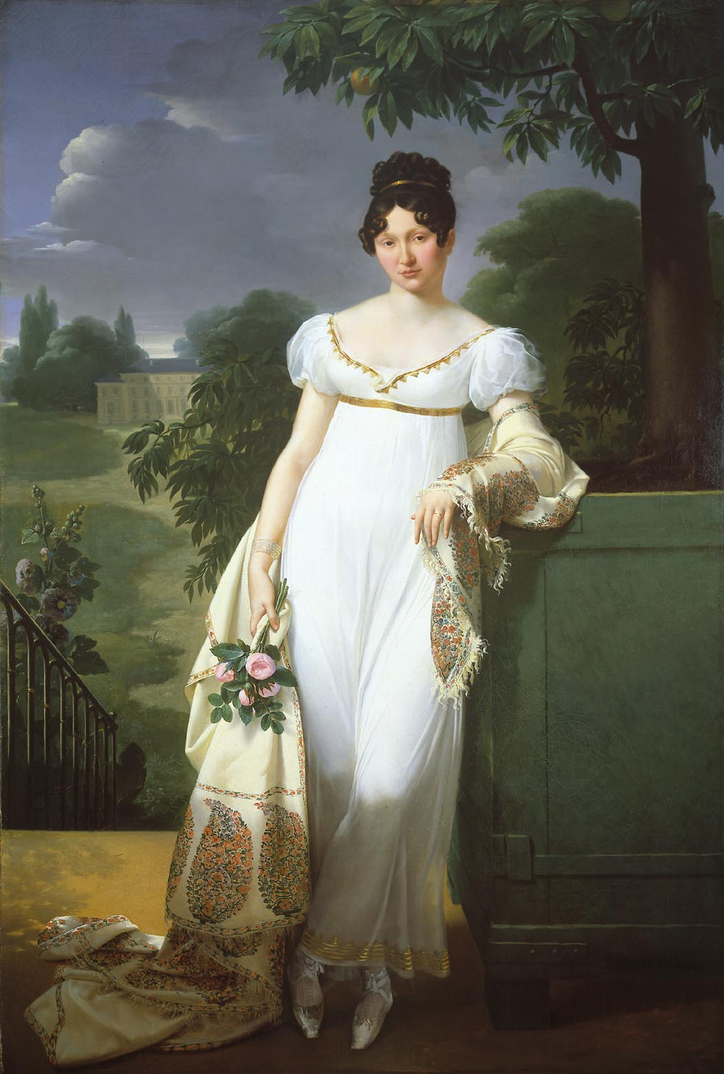 French lady in 1808