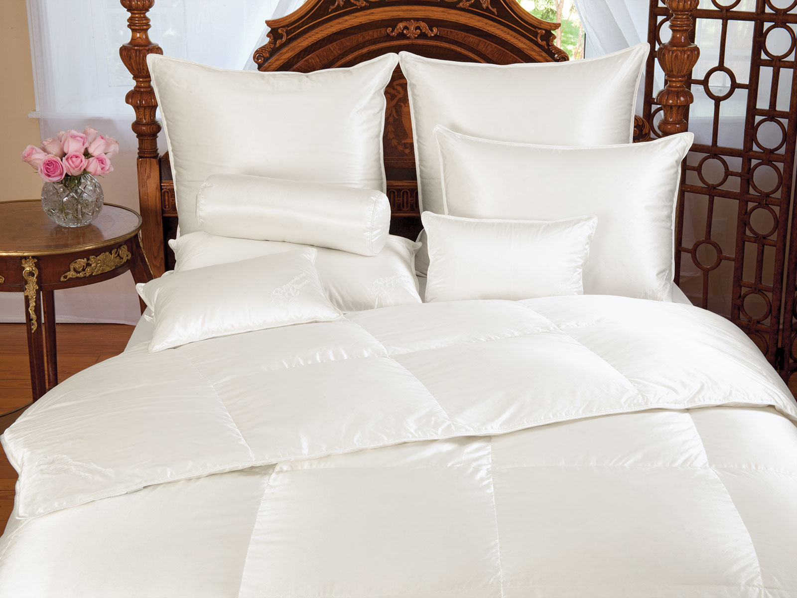 Dynasty Down Comforters and Pillows