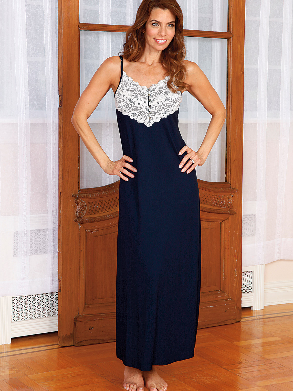 Ava Luxury Nightwear Schweitzer Linen