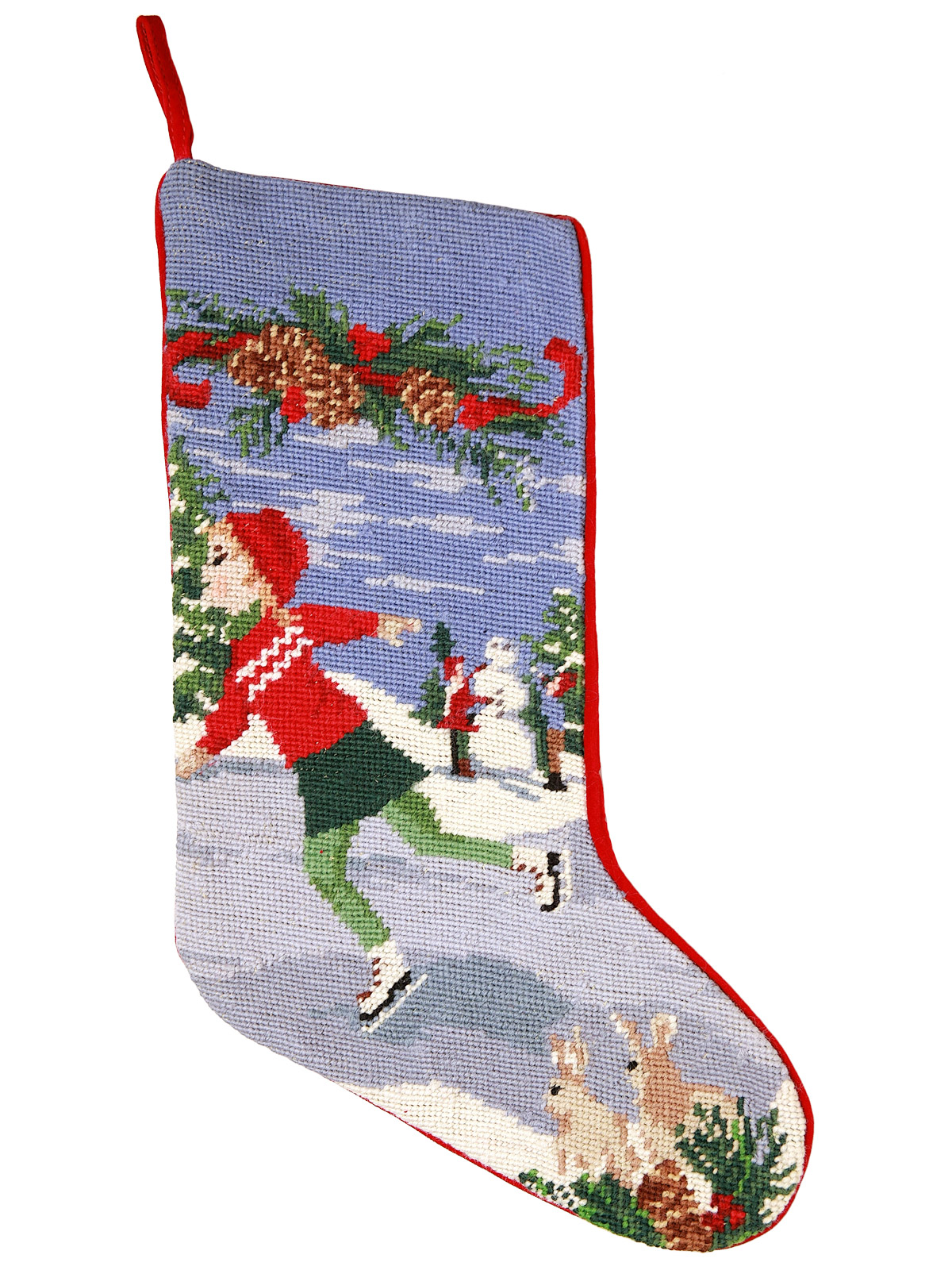 Christmas Stockings Ice Skater Accessories Schweitzer