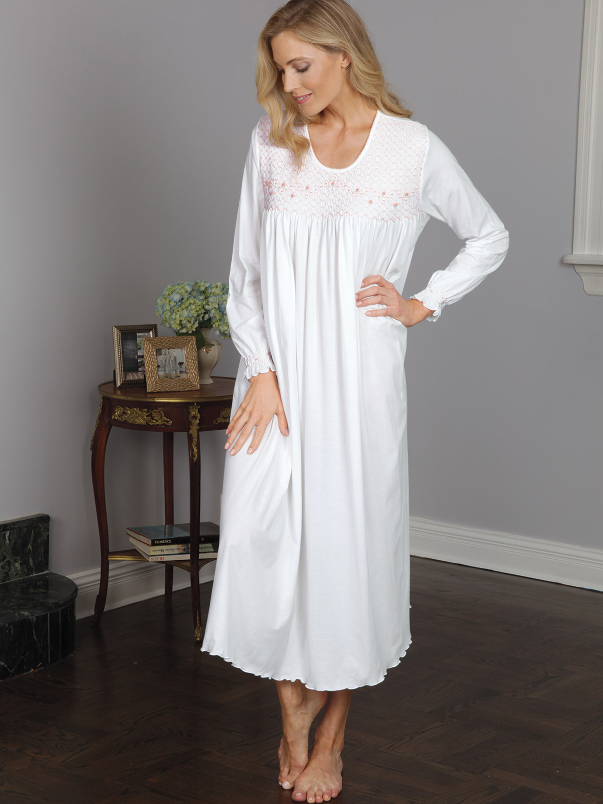 94c5118835 Jackie - Luxury Nightwear - Schweitzer Linen