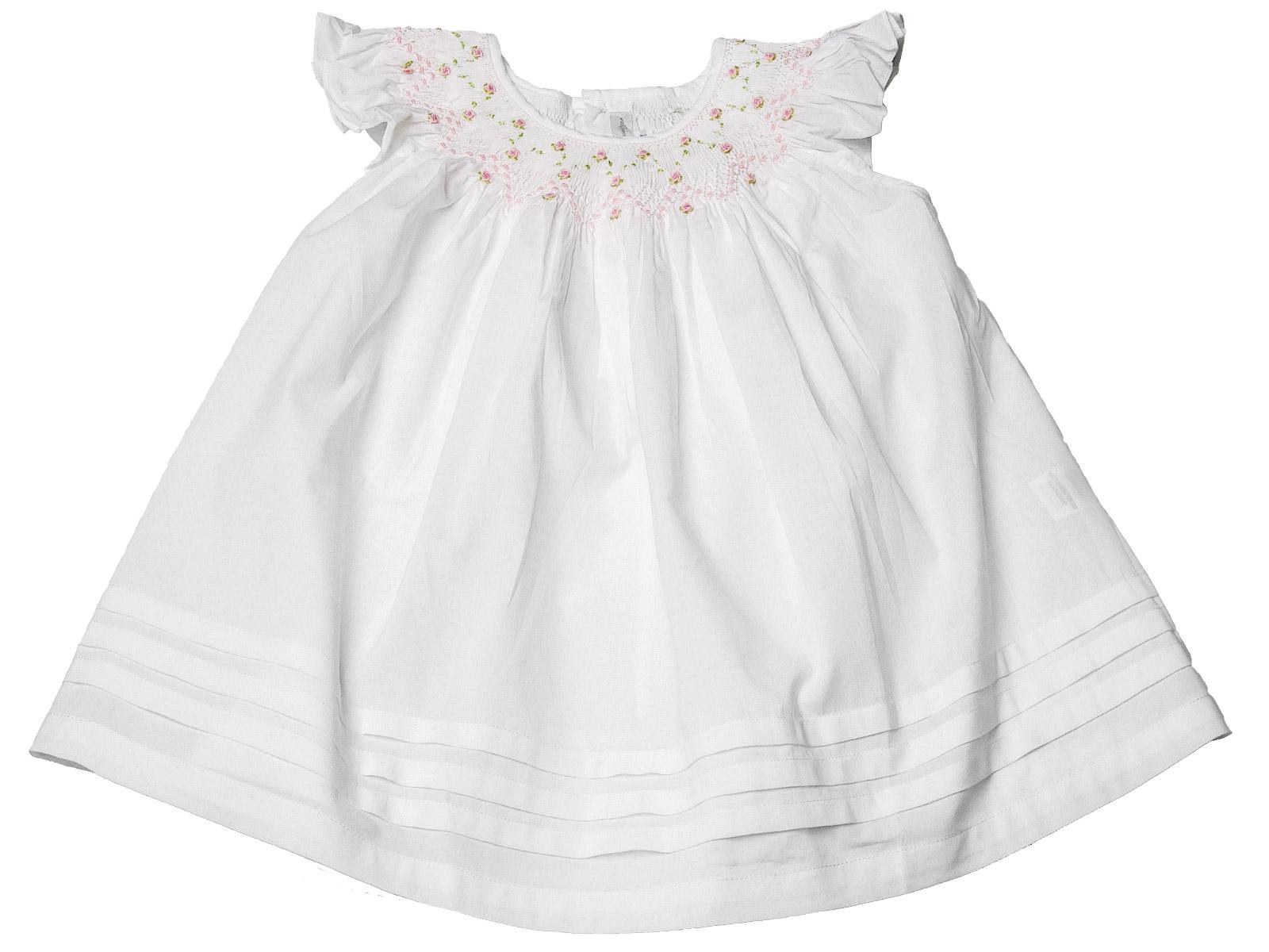 c4836673d36 Rosy - Garden Twirls Dress - Baby - Schweitzer Linen