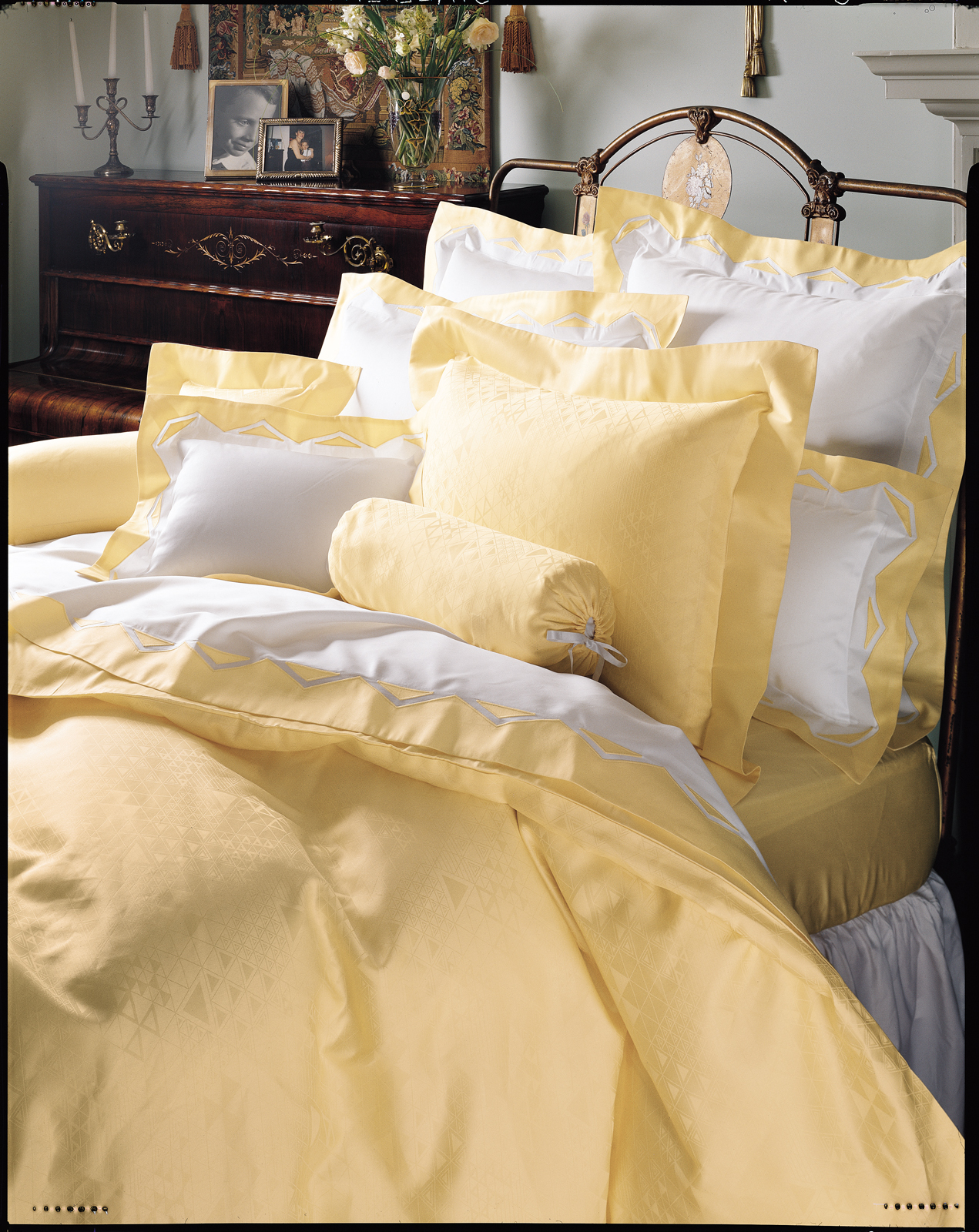 Davos Fine Bed Linens Luxury Bedding Italian Bed