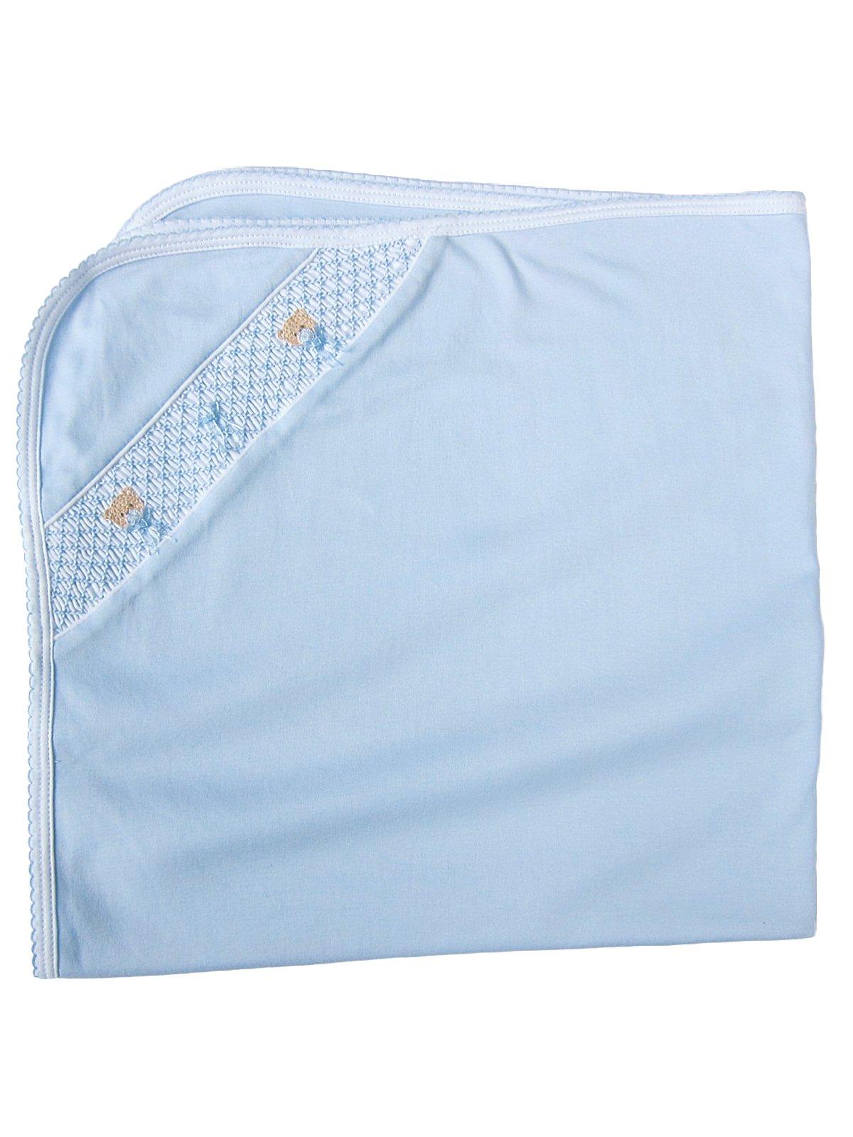 453b33490 Smocked Baby Blankets - Luxury Blankets - Luxury Bedding - Italian ...