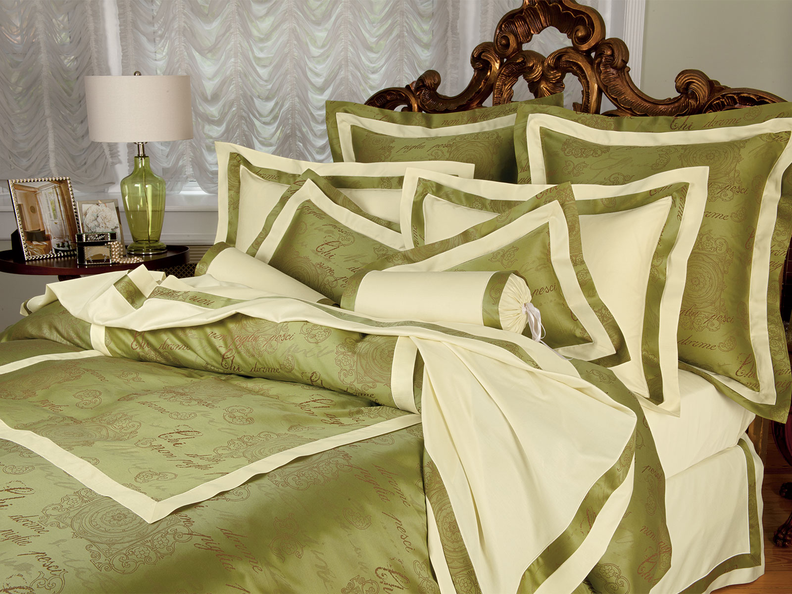 Buona Notte Luxury Bedding Italian Bed Linens