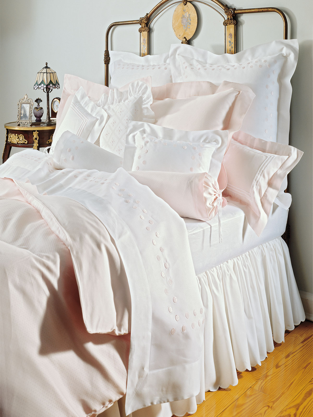 Claire De Lune Luxury Bedding Italian Bed Linens