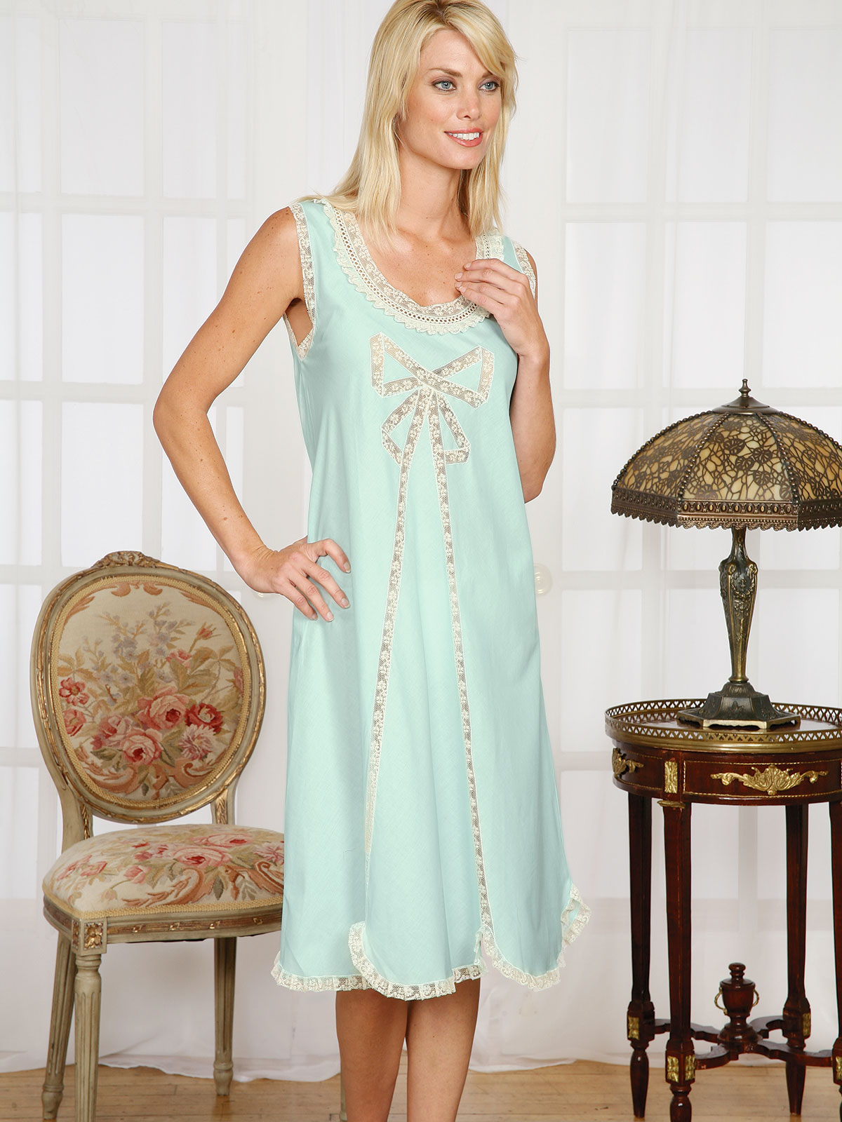 9cf6819869b9 Some Really Beautiful Nightgowns To Make You Look Like an Angel. list by  Patricia Balser 3 years ago. Carla - Luxury Nightwear - Schweitzer Linen