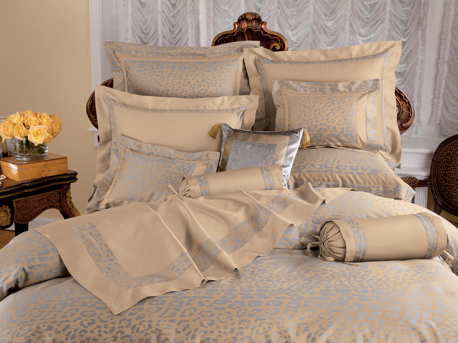 Cheetah Luxury Bedding Italian Bed Linens Schweitzer