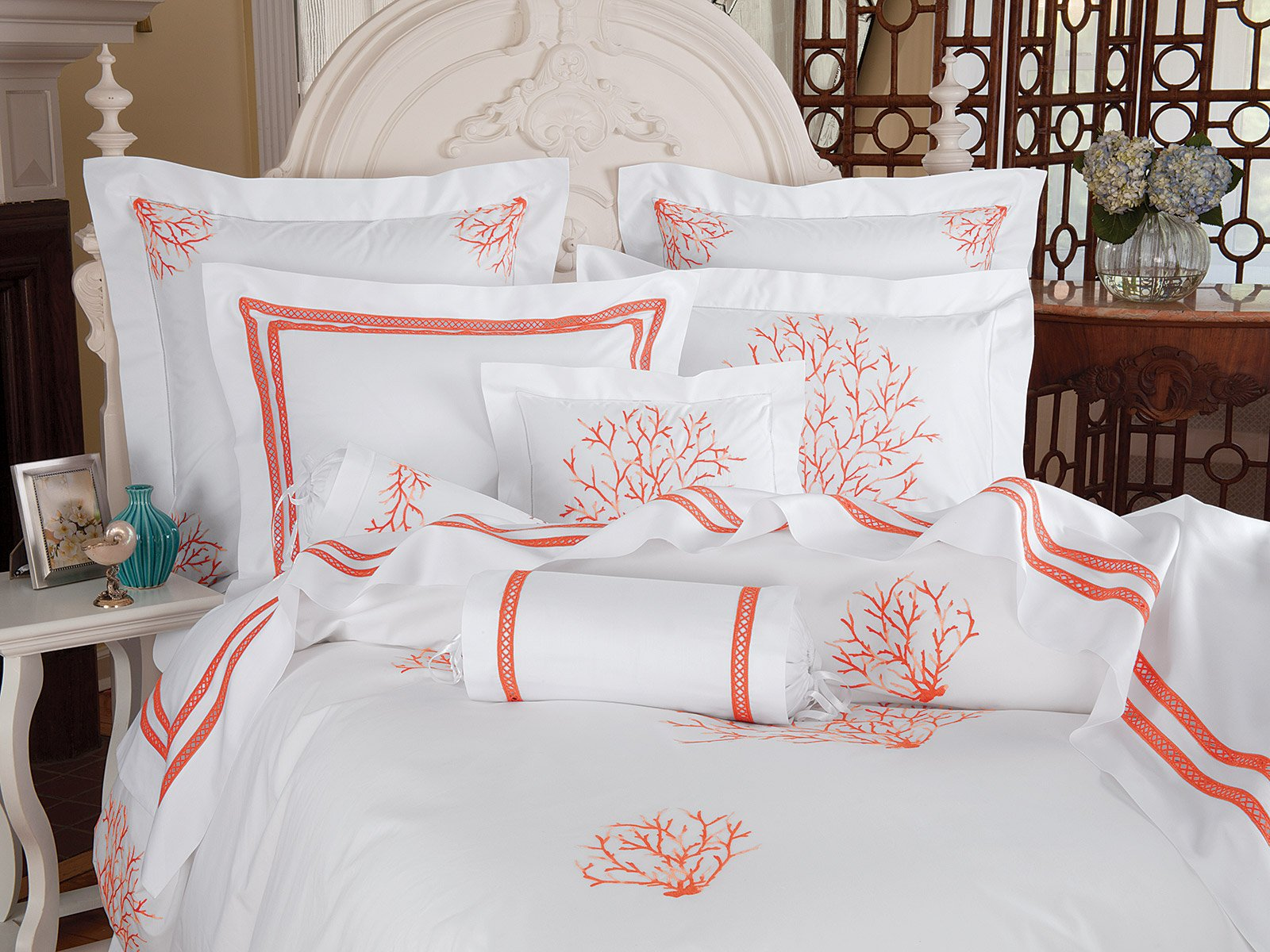 bedding expand bed reversible to belmont coral bedspread p click