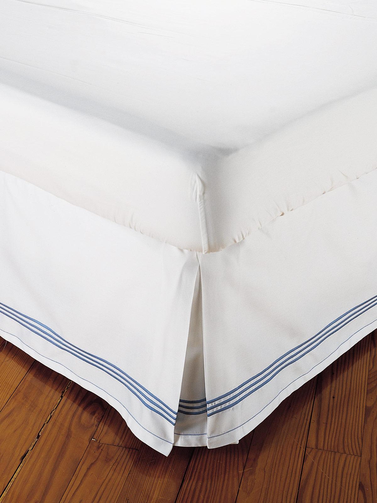 Hampton Court Dust Ruffles Luxury Bedding Italian Bed