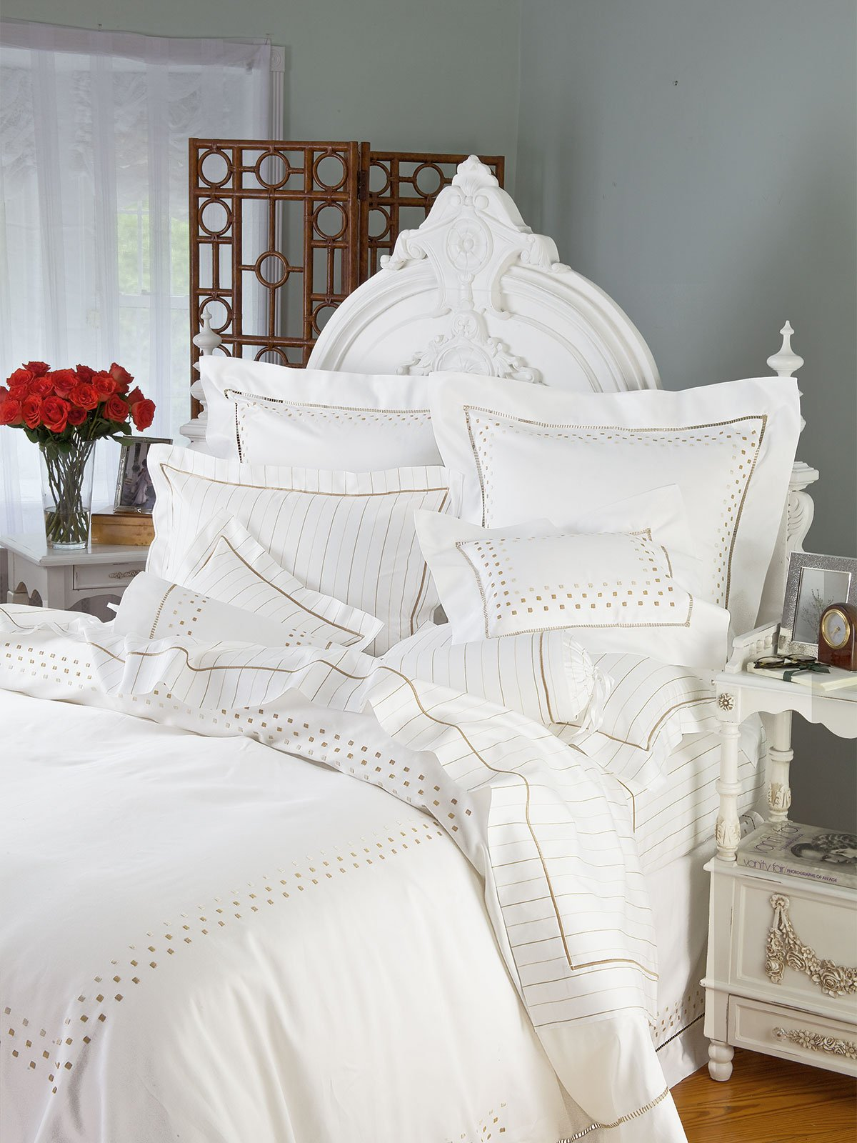 Trafalgar Square Luxury Bedding Italian Bed Linens