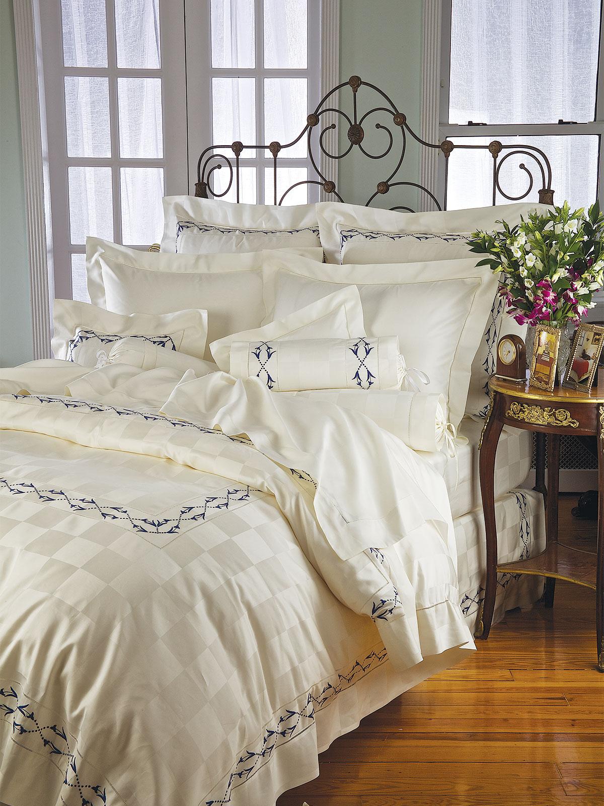 Hollandia Fine Bed Linens Luxury Bedding Italian Bed
