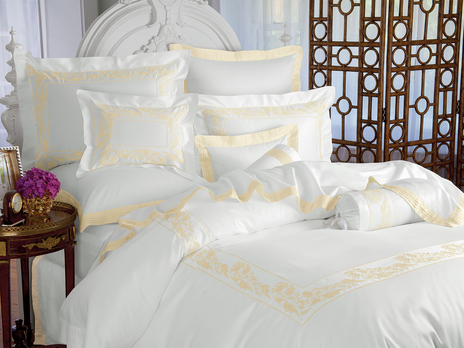 Belle Epoque Luxury Bedding Italian Bed Linens