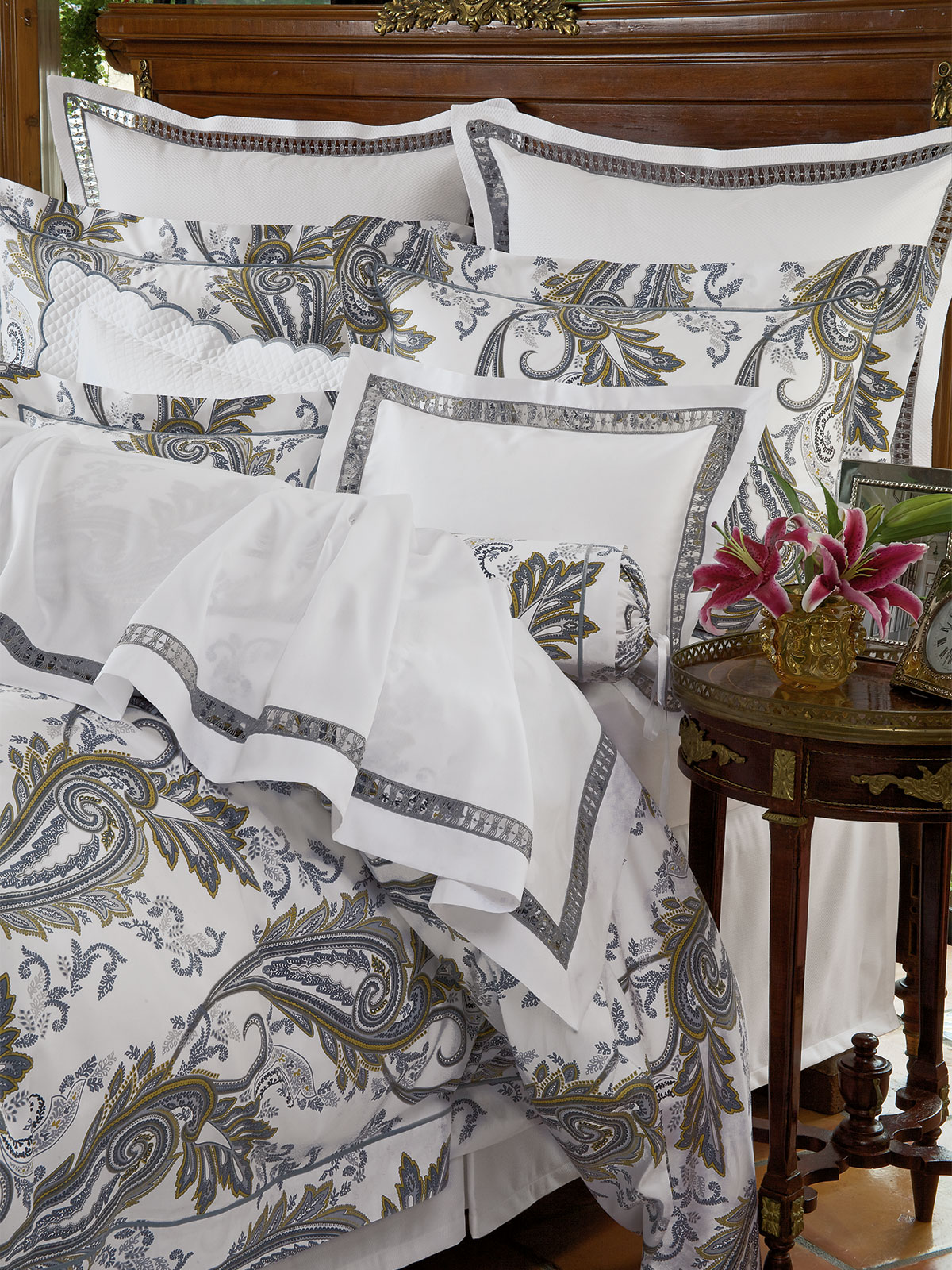 Atelier Luxury Bedding Italian Bed Linens Schweitzer