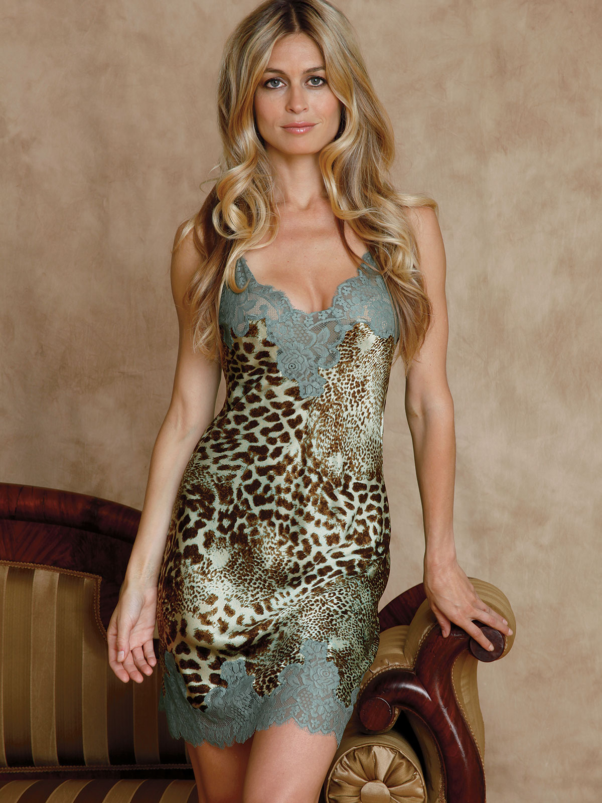 Panthera Luxury Chemise Luxury Nightwear Schweitzer