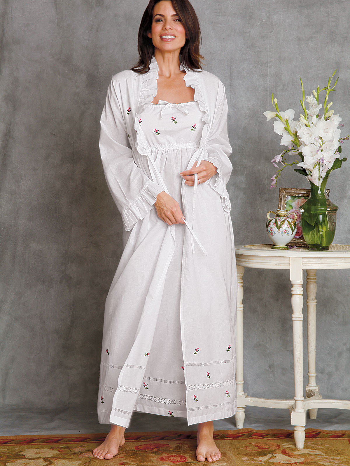 Rosebuds Nightwear Luxury Nightgowns Luxury Nightwear