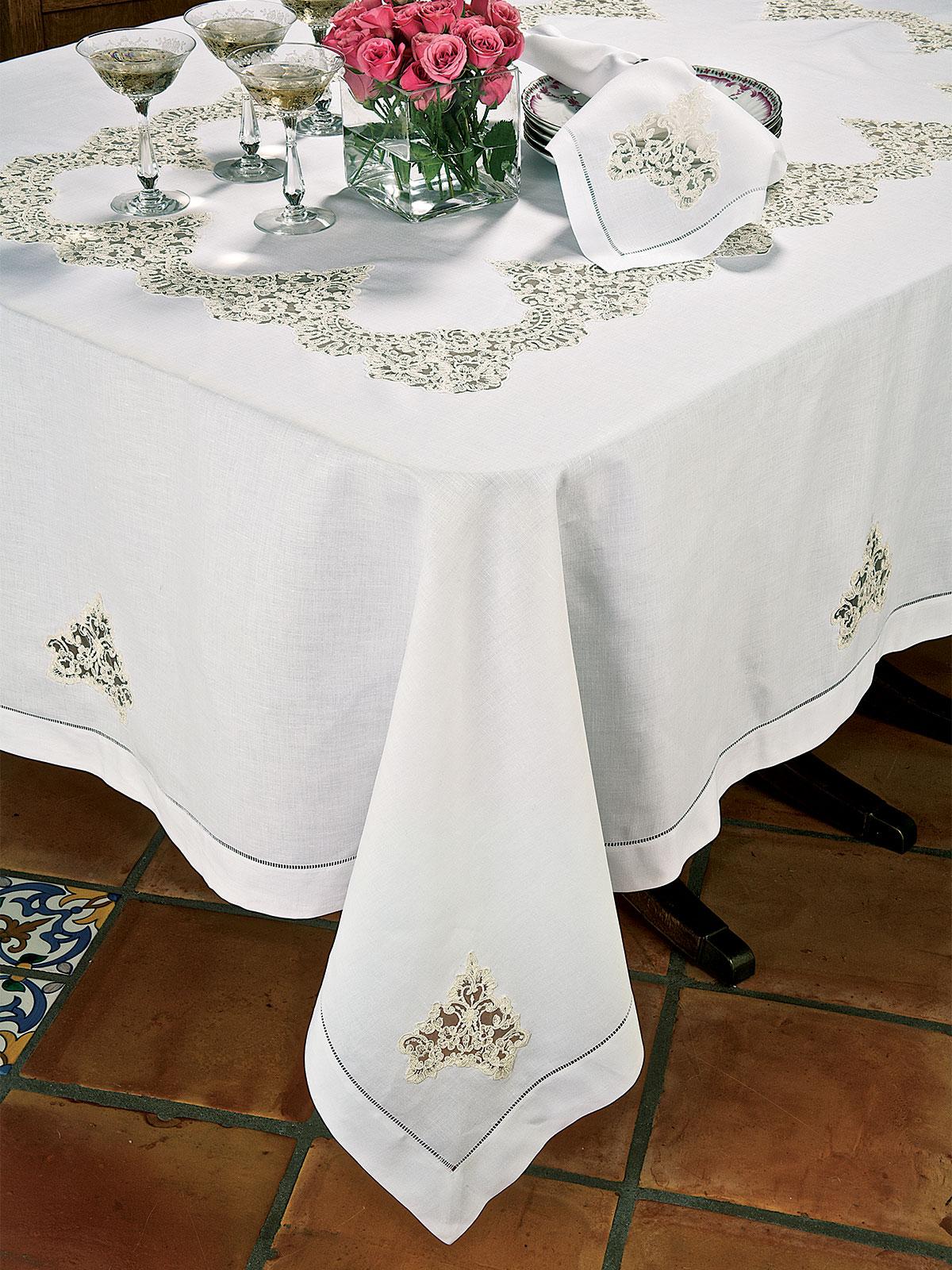 Casabella Fine Table Linens Schweitzer Linen