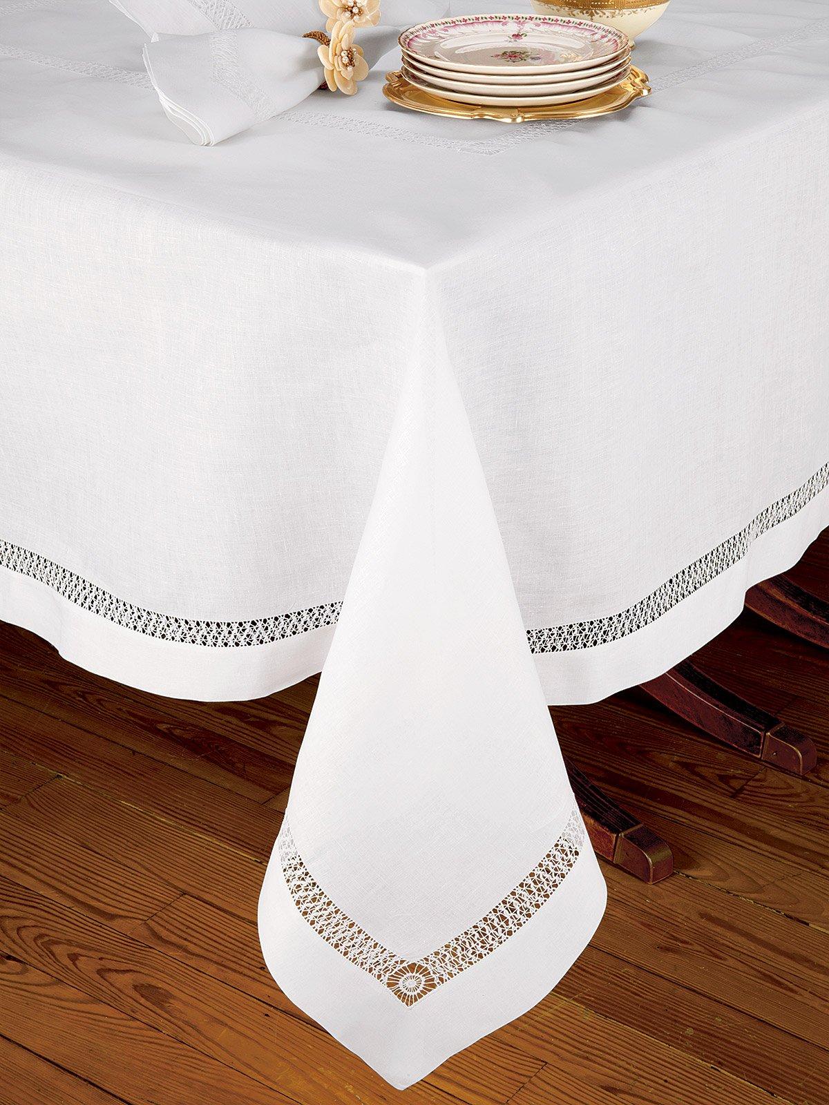 Chateau Blanc Table Cloth Fine Table Linens Schweitzer Linen