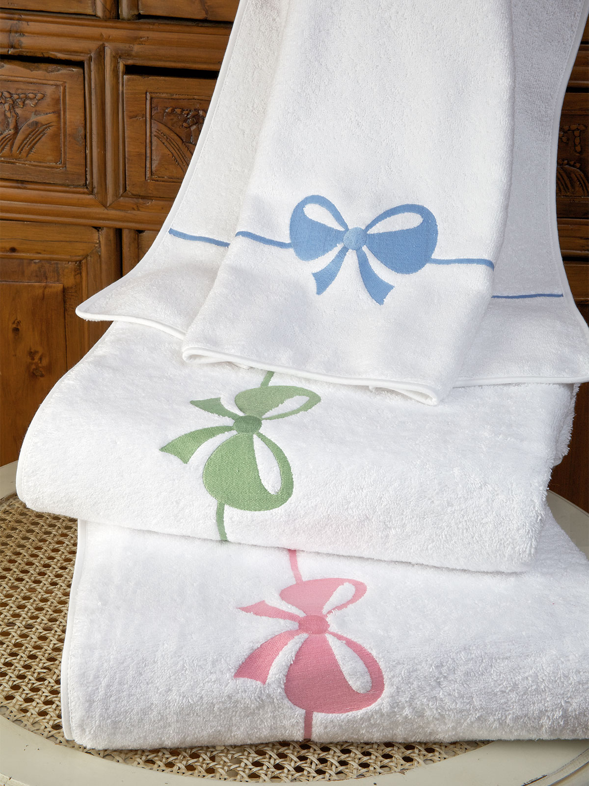 Tiffani Bath Collection Luxury Bath Linen Schweitzer Linen