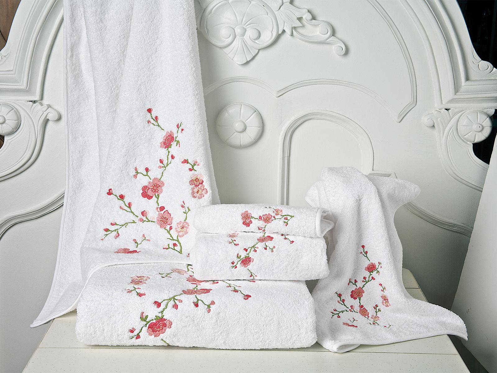 Very Cherry Bath Collection Luxury Bath Linen Schweitzer Linen