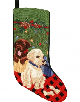 Christmas Stockings: Puppy