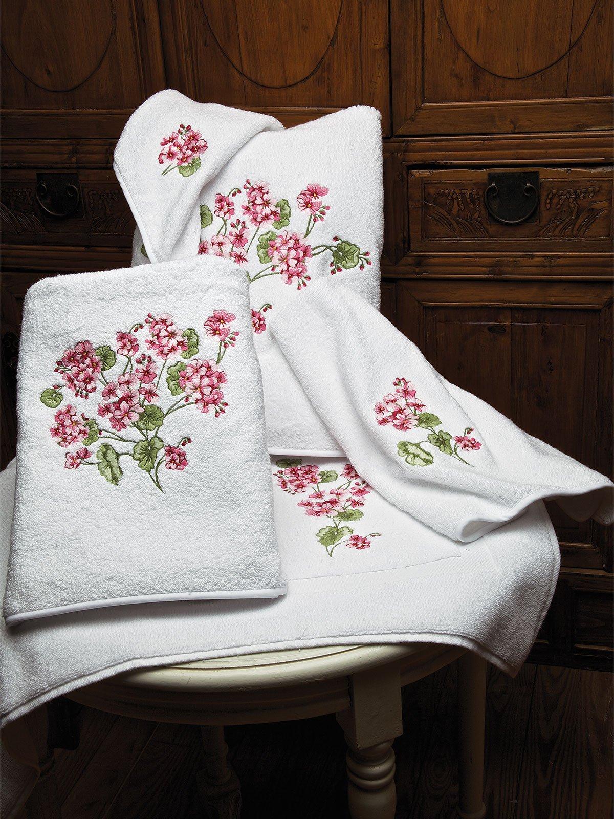 Geranium Towels Luxury Bath Linen Schweitzer Linen